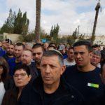 יום א': שביתה כללית במשק למשך חצי יום, לאות סולידריות עם עובדי טבע