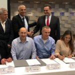 נחתם הסכם העקרונות בנמל חיפה